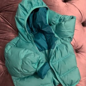 NorthFace Reversible Coat Baby 6-12 mths